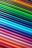 Crayon rainbow. Beautiful and colorful crayon rainbow Royalty Free Stock Photos