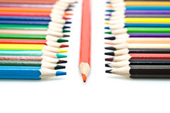 Crayon rouge Image stock