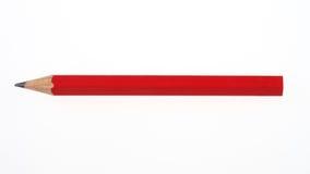 Crayon rouge Photo libre de droits