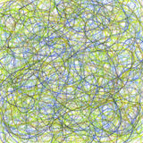 Crayon scribble abstract background Royalty Free Stock Photo