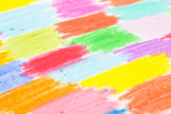 Crayon scribble background Stock Photo