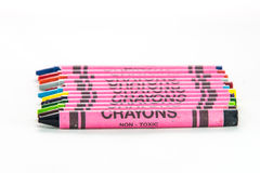 Crayon set Royalty Free Stock Photo
