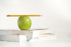 Crayon sur le dessus un Apple Photo libre de droits