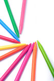 Crayon team Stock Image