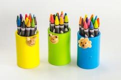 Crayon of thailand Stock Image