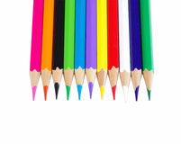 Crayon Tips royalty free stock images