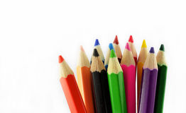 Crayon Tips Stock Images