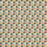 Crayon Triangle Wallpaper Stock Image