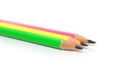 Crayon trois Illustration Stock
