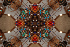 crayonkaleidoscope Fotografering för Bildbyråer