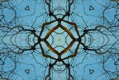 crayonkaleidoscope Arkivbilder