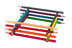 Crayonnent géométrique Photos stock
