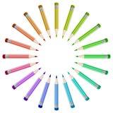 Crayonnent le fond illustration de vecteur