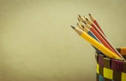 Crayonnent le plan rapproché Images stock