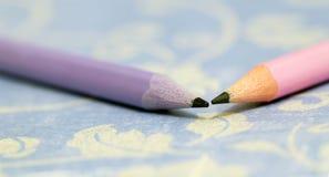 Crayonnent le plan rapproché de bannière Image stock