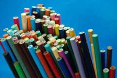 Crayonnez les crayons Image stock