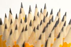 Crayonnez les tiges dans la collision , Idées d'affaires Photographie stock libre de droits
