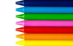 Crayons воска Стоковая Фотография