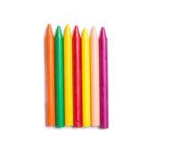 Crayons воска стоковое фото