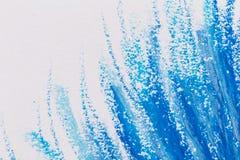 crayons голубая рамка Стоковое Фото