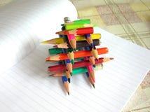 crayons конструкции Стоковое Фото