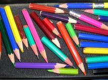 crayons малое Стоковая Фотография