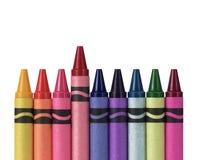 crayons пестротканое Стоковые Изображения RF