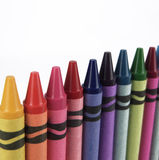 crayons пестротканое Стоковое Изображение