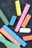 crayons покрашенные классн классным стоковые фото