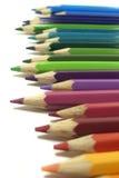 Crayons предпосылка стоковое изображение rf