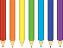 crayons радуга Стоковые Изображения