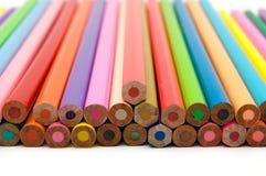 Crayons расцветки закрывают вверх Стоковое Изображение RF