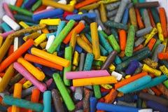 crayons старая Стоковые Фотографии RF