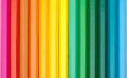 crayons цвета предпосылки Стоковое Фото