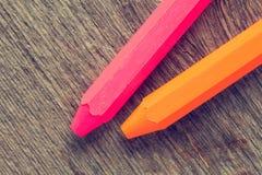2 crayons цвета Стоковое фото RF