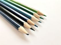 crayons royaltyfri fotografi