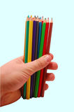 crayons Royaltyfria Bilder