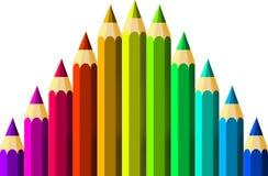 Crayons Stock Photos