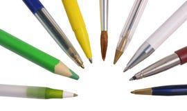 Crayons Images libres de droits