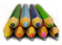 Crayons. Colorful crayons Royalty Free Stock Image