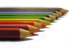 Crayons. Colorful crayons Royalty Free Stock Photography