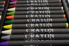 Crayons 2. Close -up of colorful crayons Stock Image