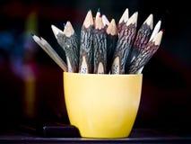 crayons Arkivbilder