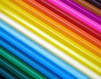 Crayons. Colour background made of crayons stock photos