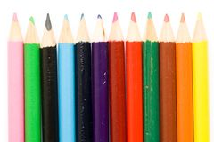 crayons Arkivfoton