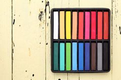 Crayons Photographie stock