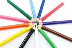 Crayons Стоковые Фото