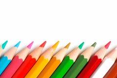 crayons Fotografering för Bildbyråer