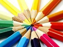 Crayons Photo stock