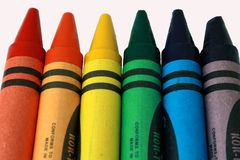 Crayons Stock Image